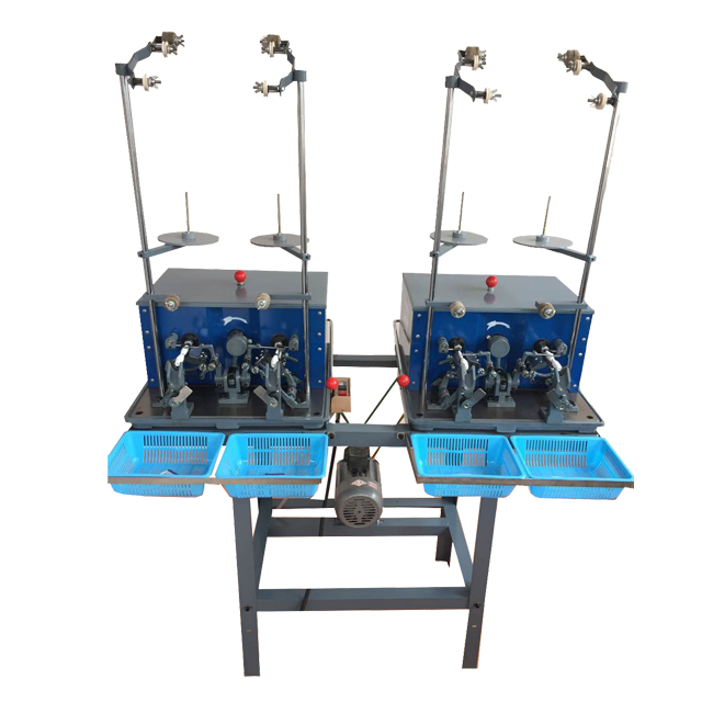 4 heads bobbin thread winding machine