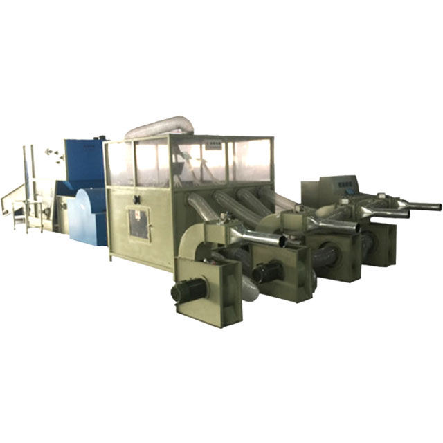 Compressed ball fiber PP cotton Sofa Pillow Stuffing Filling Machine Cushion Production Processing Line