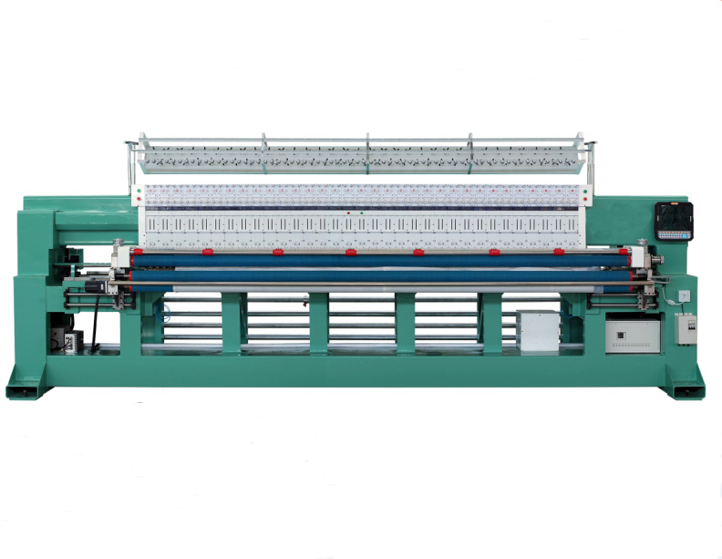 High Quality Two Needles Quilting Computerized Embroidery Machine with high speed price