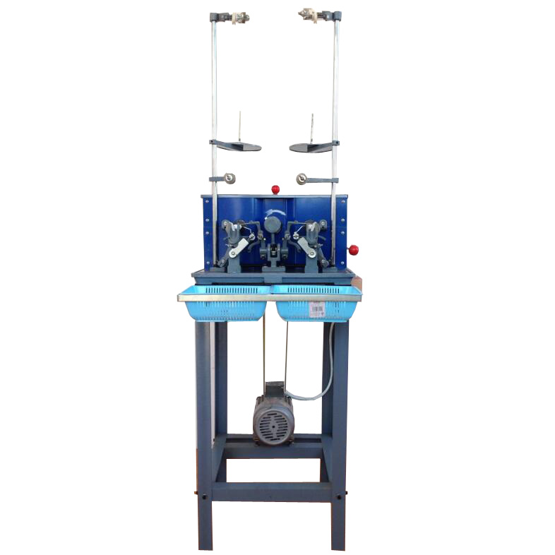 Two Head Automatic Thread Trimming High Speed Automatic Cocoon Bobbin Windr Machine