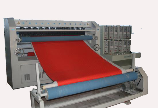 ultrasonic quilting machine, computer multi needle quilting machine