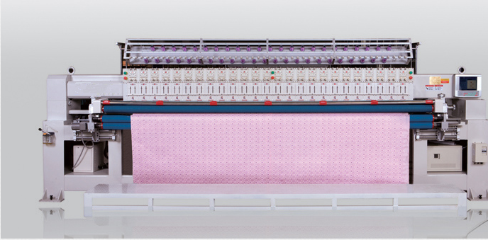 33-2 2 color Computerized Mammut Quilting Embroidery Machine Industrial For Quilt