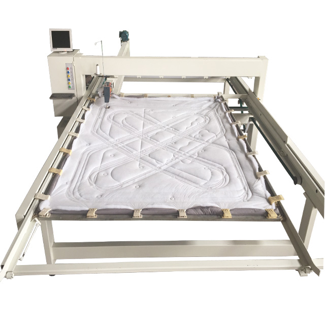 QY-3Commercial High Speed Computerized Single Needle Quilting Machine Quilting Comforter Supplier In India