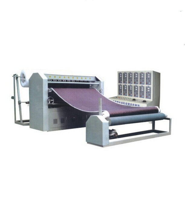 China produced glue-spreading cotton embossing ultrasonic quilting machine