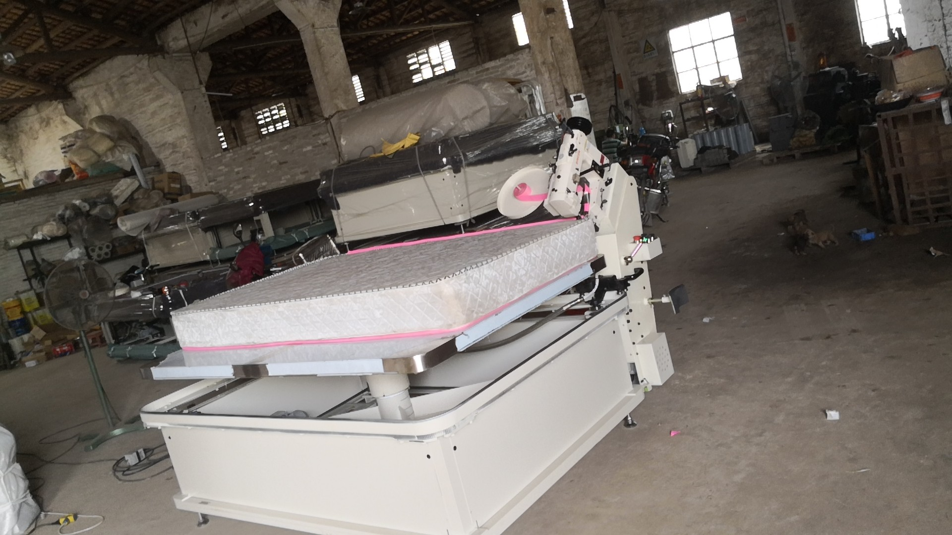 Export Mattress Tape Edge Machine to Guatemala