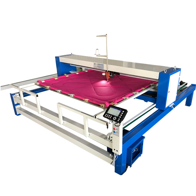 Automatic duvet industrial fabric one head quilting machine for comforter
