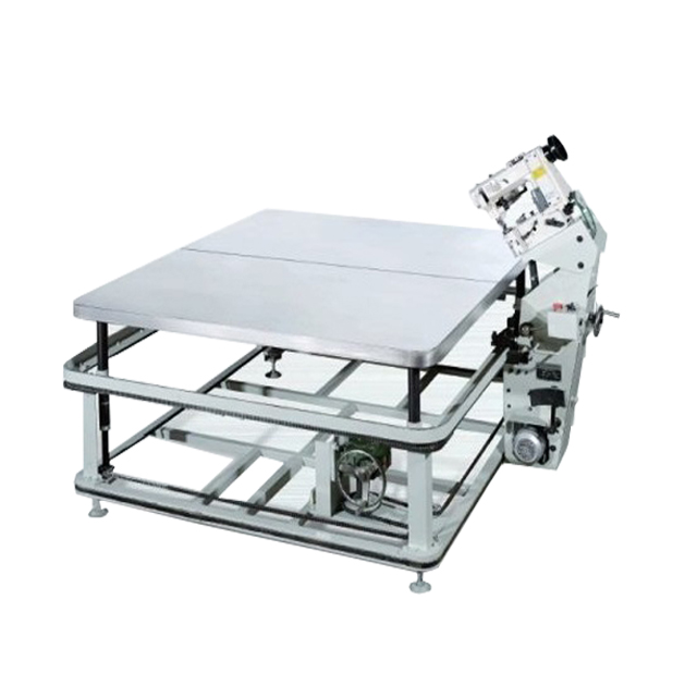 Qinyuan factory stock chain/lock stitch mattress tape edge machine price with high quality
