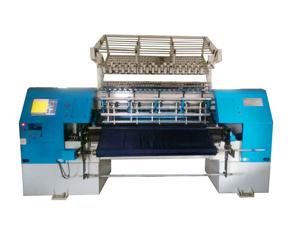 Computerized lock stitch mattress high speed multi needle quilting machine