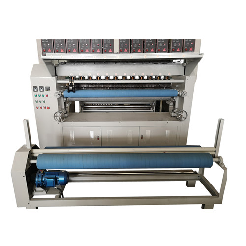 Non woven automatic industrial mattress ultrasonic quilting machine for rolls