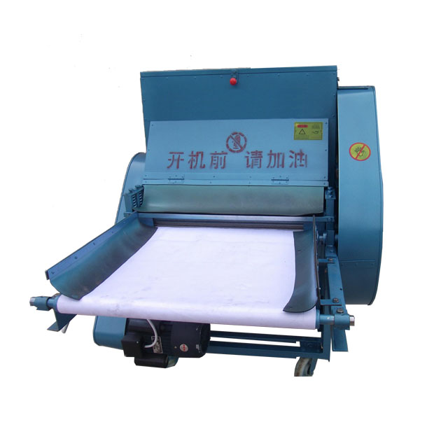 single and double roller cocoon opener cocoon opening machine