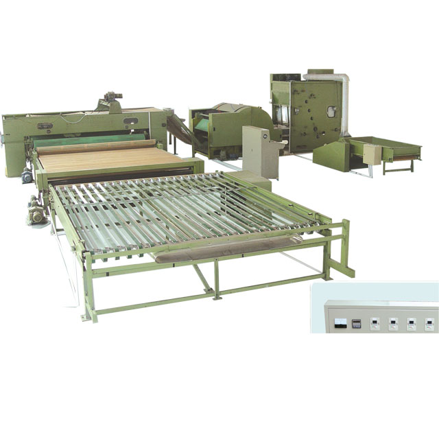 QY nonwoven production line of fabric machine