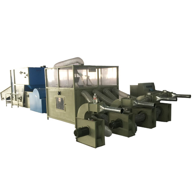 Full automatic ball fiber stuffing pillow filling machine production line