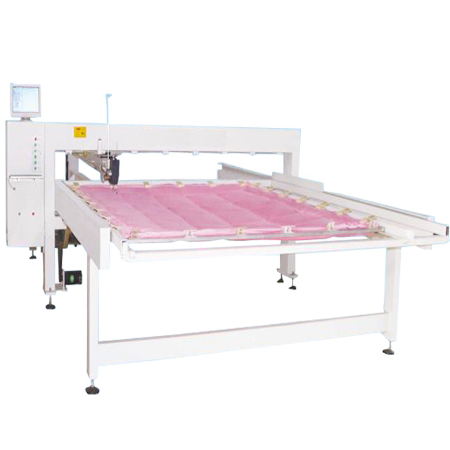 industrial head movable mattress computerized long arm quilt designs single needle quilting machine